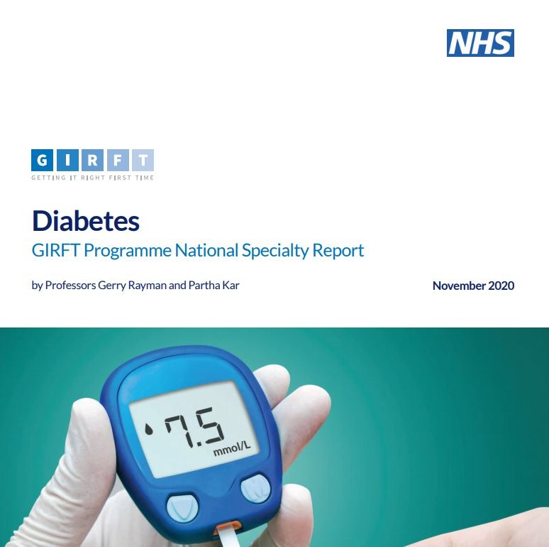 GIRFT Diabetes Report Front Page